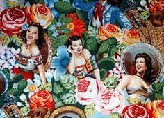 Mexican Calendar Girl