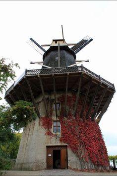 Historical Windmill in Potsdam