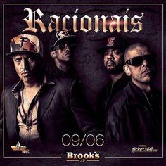 Racionais Mcs na Brooks!  Coloque seu nome na lista no site : www.baladassp.com.br Infos no Whats: 951674133