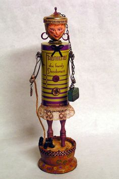 assemblage art dolls - Google Search