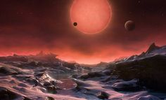 The discovery of seven Earth-sized planets in the system have lit a new fire in the search for life. This is the resource page for all images, videos, and interactive media from the NASA news conference. Interstellar, Super Terra, Cosmos, Search For Extraterrestrial Intelligence, Astronomy Pictures, Hubble Space Telescope, Light Year, Our Solar System, Star Sky