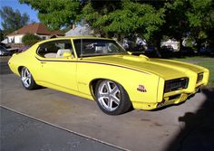 1969 Pontiac GTO Judge. More Cool Muscle Cars at: http://hot-cars.org
