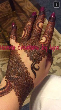 Henna Design By Fatima Kashee's Mehndi Designs, Mehndi Designs For Girls, Mehndi Design Pictures, Wedding Mehndi Designs, Mehndi Designs For Fingers, Latest Mehndi Designs, Henna Tattoo Designs, Unique Henna, Modern Henna
