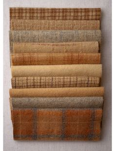 Mini Textured Felted Wool Bundles