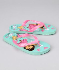 Take a look at this Nickelodeon Blue Dora the Explorer Flip-Flop by Dora the Explorer Collection on #zulily today!