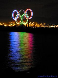 Gorgeous reflection.  Takes the Olympic rings to a whole new level.