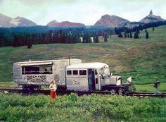 transpress nz: Galloping Goose, Colorado, 1951