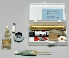 Fluxus | Spell Your Name with those objects