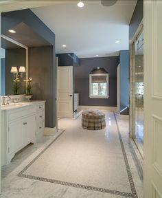 Bathroom Design Ideas. Anyone can feel inspired by this bathroom design! Spectacular!  #Bathroom #BathroomDesign #Interiors
