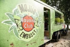 Weekend ahead - time to to relax! In Germany the Mojito Embassy Truck by Havana…