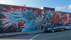 Meggs, Summoners War (January, 2015)  Santa Fe St near Willow, Los Angeles