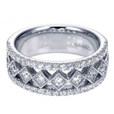 Classic Ladies Diamond Anniversary Band from Emma Parker & Co.