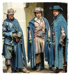 The Musketeers ...Athos, Aramis, Porthos ( 4th is behind the camera :))))