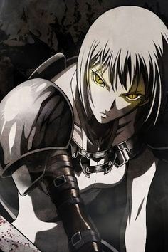 Claymore: Though it's an older anime, it has great effects. Very bloody though, but if you've got the guts for it (hehe he he.. inside joke..)
