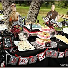 WWE Birthday Party {Wrestling Birthday Party}