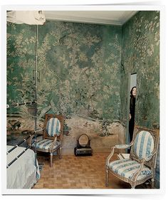 www.thisisglamorous.com   Décor Inspiration : Toile & de Gournay by {this is glamorous}, via Flickr