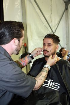 Peace, Hair & Music: #Lollapalooza 2014 #event #barber #stylist #mustache #andis