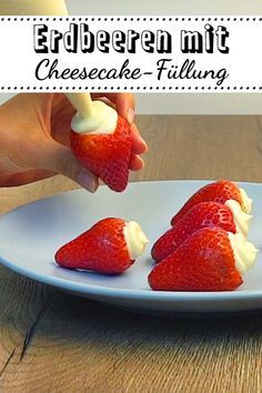 Für alle, die sich zwischen Erdbeeren und Cheesecake nicht entscheiden können.