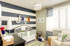 Jack's Vintage Modern Nursery | Private Residence | Chandler, AZ