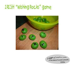 St Patrick's Day Game- perfect for home w/ kids or classroom game #stpatricks #game