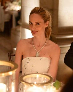 Lauren Santo Domingo in Chanel at Chanel's Fine Jewelry Dinner at The New York Public Library on June 2, 2016 #lsd