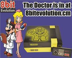 DR. Mario Custom painted NES console. ONLY available at: http://8bitevolution.com/shop/custom-painted-consoles/doctor-mario-nes-console-yellowblack/ Get 10% off with code JohnMcCool10 #retrogaming #nintendo #NES #mario #DrMario #8bit #16bit #custompaint #gamemod #gaming #retro