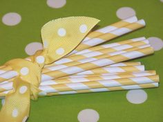 For drinks or cupcake toppers