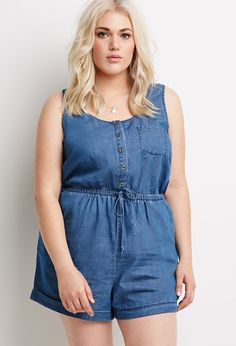 The Curvy Fashionista | 10 Plus Size Rompers for Spring!