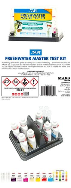 Water Tests and Treatment 77659: Freshwater Master Test Kit Testing Aquarium Water Conditions Ph Ammonia Nitrite -> BUY IT NOW ONLY: $30.36 on eBay!