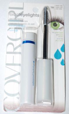 2623a4e3214 COVERGIRL Exact Eyelights Waterproof Mascara Black Ruby 725 Green Eyes 1 EA  for sale online   eBay