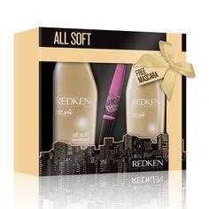 Redken - Duo All Soft avec coffret cadeau mascara GRATUIT - feelunique.com