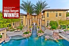 Congratulations to our Unique Backyard Winner! Tanya Murray of Realty Executives of Nevada- Summerlin Office has been selected for her listing at 5 Wood Creek Ct in Las Vegas, Nevada 89141. Congrats Tanya!