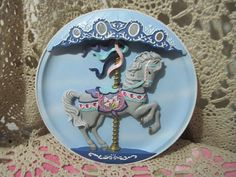 Carousel  Rhodes Studio Bradex Plate No 84-1230-76 Proud
