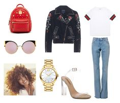 """""""outfit #169"""" by anaguilhermep98 on Polyvore featuring Gucci, YEEZY Season 2, MCM, True Religion, Fendi, Movado, chic, casualoutfit, CasualChic and gucci"""
