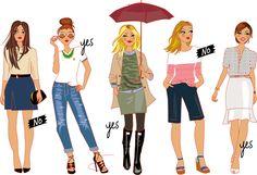 """illustration de mode pour """"Magnifique by Cristina"""""""