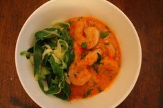 Thai Shrimp  a few modifications, or I can wait until I am off of nutrition