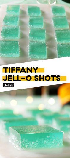 """Say """"Yes"""" To Tiffany Jell-O ShotsDelish"""