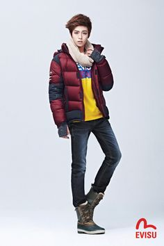 Lee Hyun Woo for EVISU