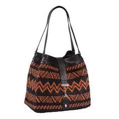 Tribal Crochet Tote Bag l Helen Kaminski