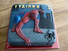 amazing 3D effect SPIDERMAN cake!