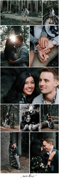 Engagement in the woods. Cool, idea? #verlobung #engagement #wald #wood #nature
