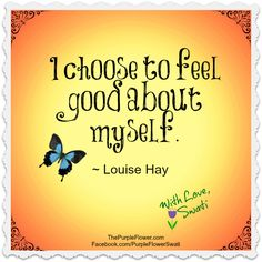 create daily inspirations with photoshop and Louise Hay quotes.