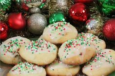 Ricotta Cookies http://www.cookingwithnonna.com/italian-cuisine/christmas-ricotta-cookies.html