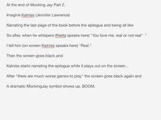How MockingJay should end.