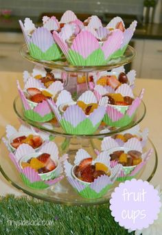 Fairy Birthday Party:  Ideas for a fairy themed birthday party including a breakfast menu that both adults and kids will love.