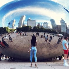 The Instagrammers Guide To Chicago, IL   Photo-Ops in Chicago   The Bean / Cloud Gate