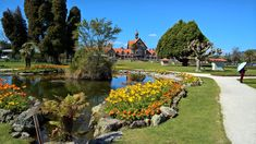 Government gardens in Rotorua. Two of the stories in the anthology are set in Rotorua. Golf Courses, Gardens, Image, Outdoor Gardens, Garden, House Gardens