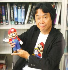 Shigeru Miyamoto- a Japanese video game designer and producer. He created some of the most successful video game franchises of all time, including Mario, Donkey Kong, The Legend of Zelda, Star Fox, F-Zero, Pikmin, and the Wii series.