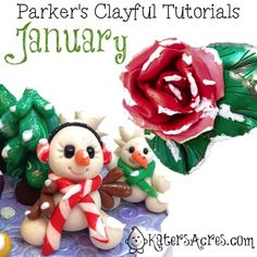 Parker's Clayful Tutorials – January 2014 Review | Click to learn about the club OR purchase the tutorials for polymer clay.