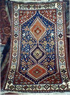 """Yalameh """"Peacock"""" persian rug"""